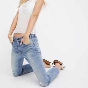 Levi's 505 C Cropped Jeans in Heat Stroke
